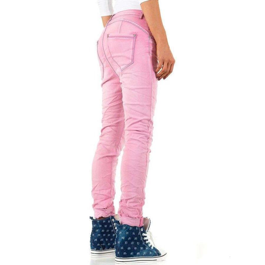 Damen Jeans - pink