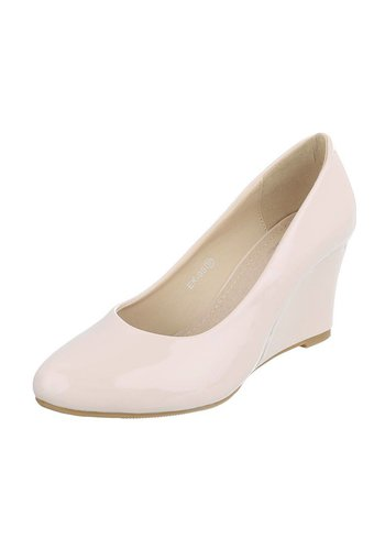 Neckermann Dames Pump met sleehak - beige