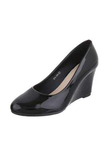 Neckermann Dames Pump met sleehak - zwart