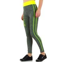 Damen Leggings von Best Fashion - yellow