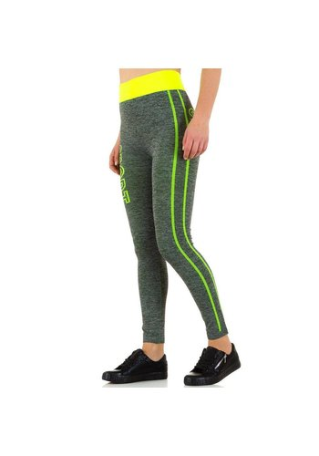 Best Fashion Dames legging - geel