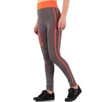 Damen Legging - Orange