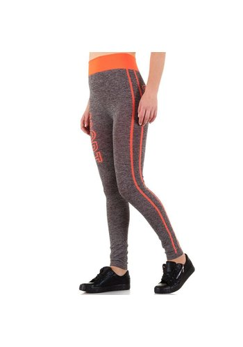 Best Fashion Damen Legging - Orange