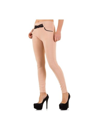 Best Fashion Dames Legging met zakken - roze