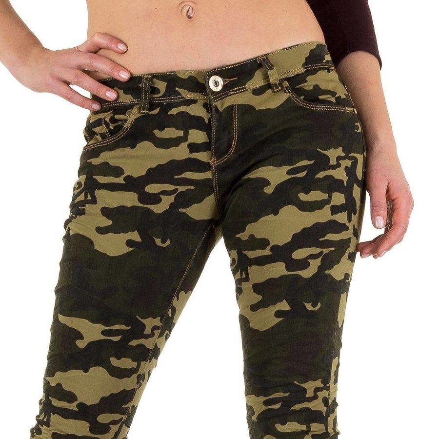 Damenjeans - armygreen