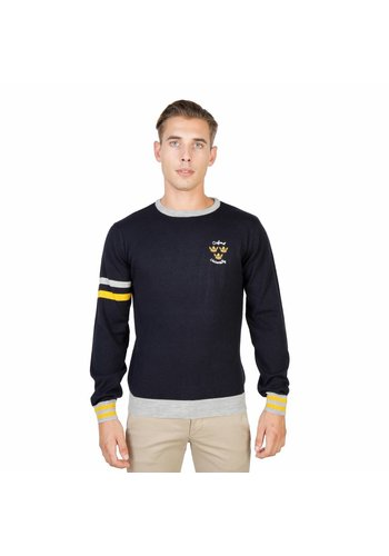 Oxford University Pullover Homme OXFORD_TRICOT-CREWNECK - bleu