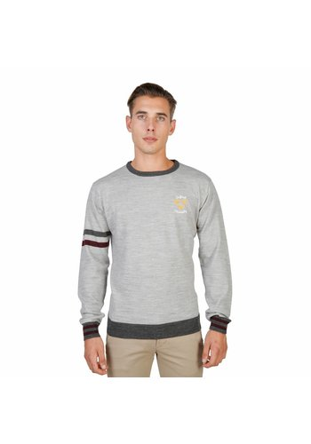 Oxford University Pull Homme OXFORD_TRICOT-CREWNECK - gris
