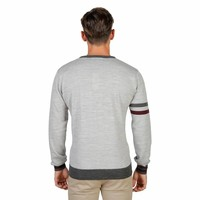 Pull Homme OXFORD_TRICOT-CREWNECK - gris