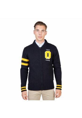 Oxford University Heren Vest OXFORD_TRICOT-TEDDY - blauw