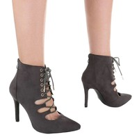 Damen High Heels - grey