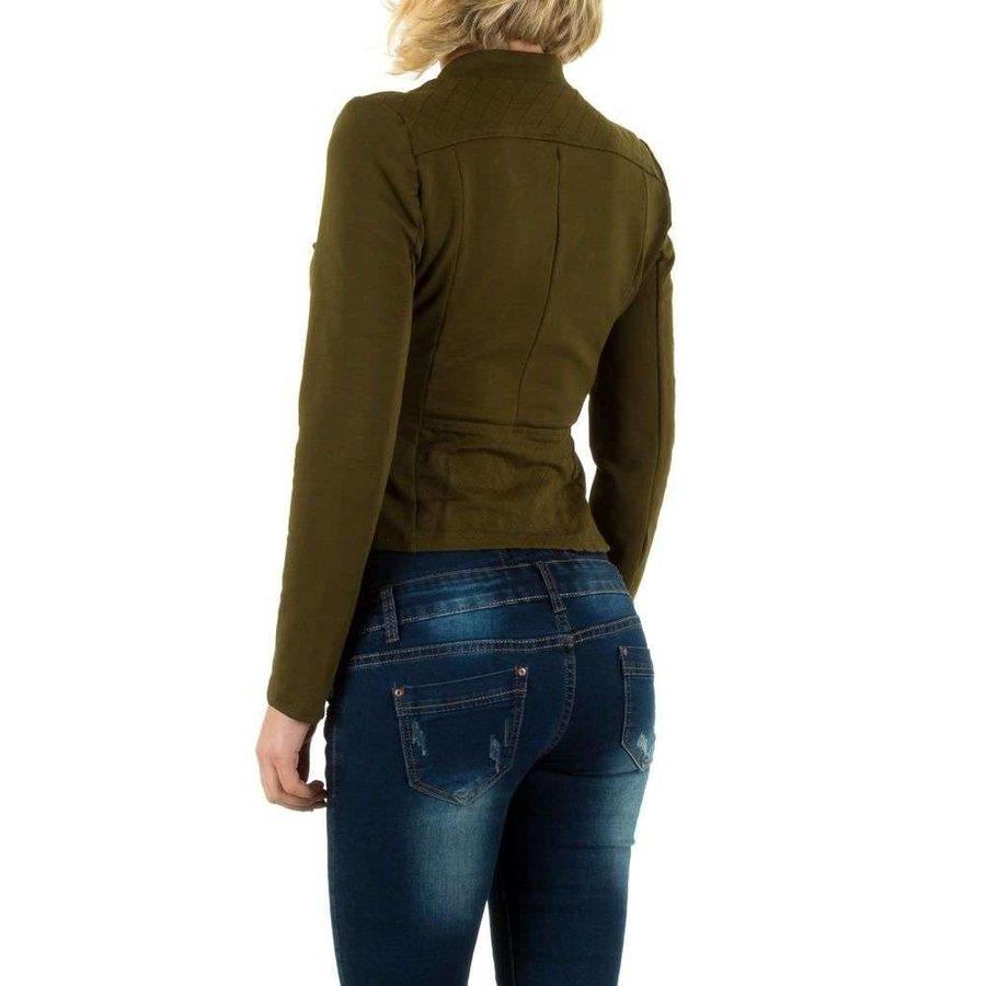 Damen Jacke - khaki