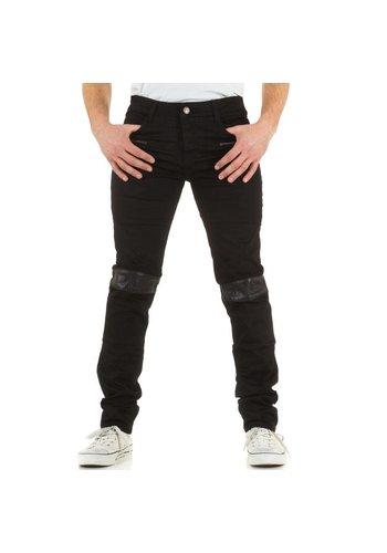 SIXTH JUNE Heren Jeans - zwart