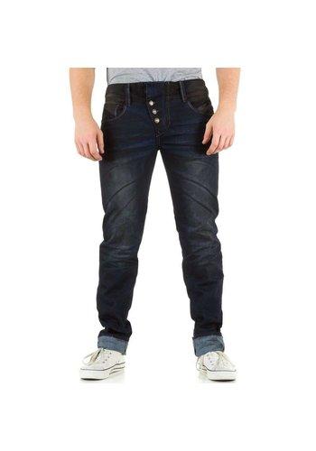 SIXTH JUNE Heren Jeans - donkerblauw