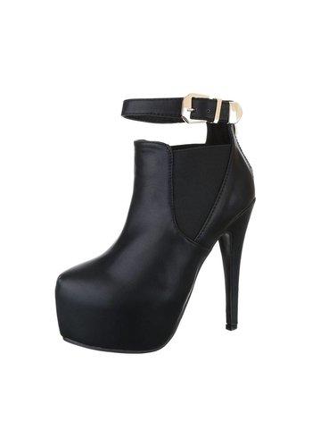 Neckermann Damen High Heels mit Schnalle - schwarz
