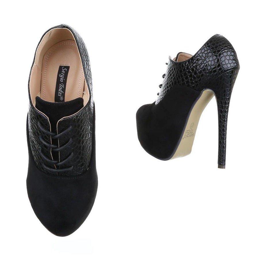 Damen Stiletto - schwarz