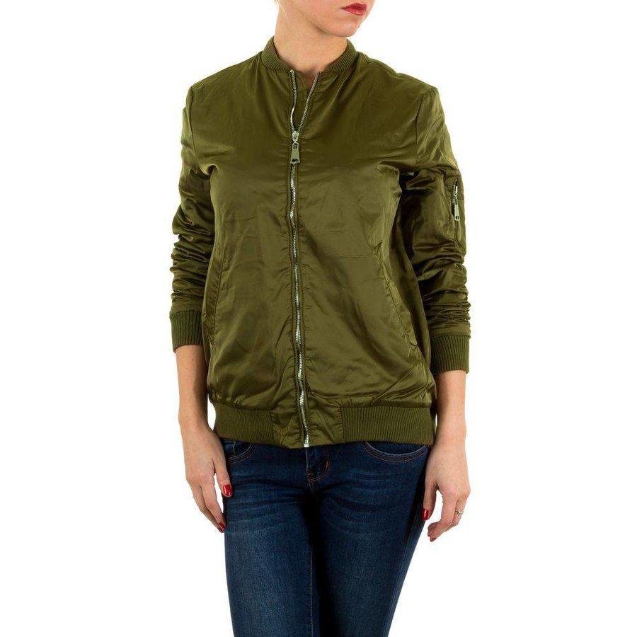 Damen Jacke von Emma&Ashley Design - armygreen