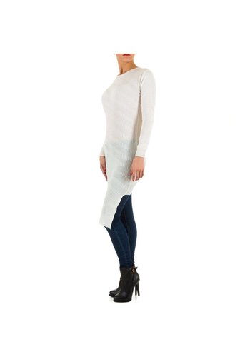 SWEEWE Tunique Femme - Blanc