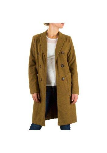 SWEEWE Damen Mantel von Sweewe - Senf