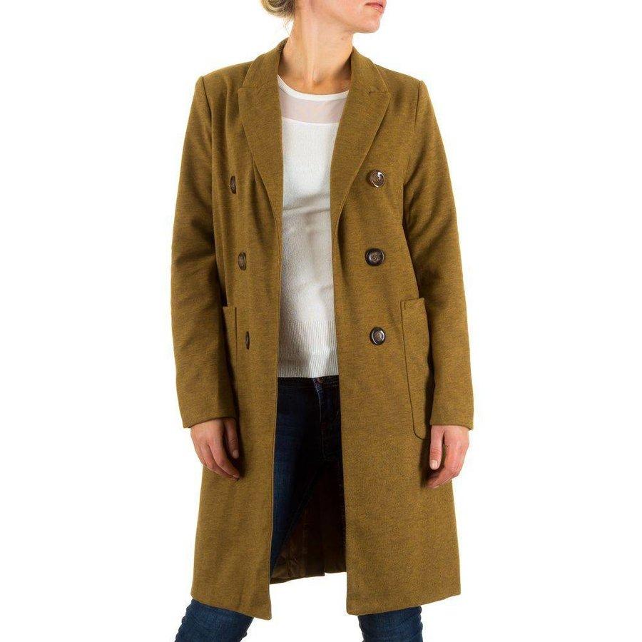 Damen Mantel von Sweewe - Senf