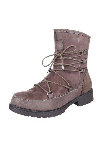 Neckermann Damen Ankle Boots - khaki