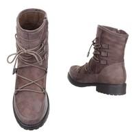 Damen Ankle Boots - khaki