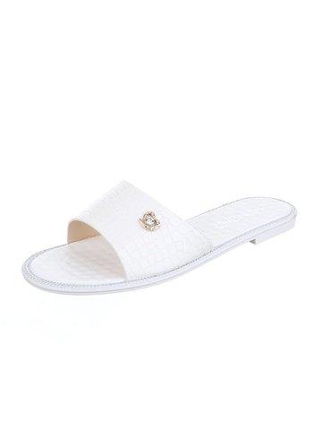 Neckermann Damenschuh mit Lederoptik - weiß
