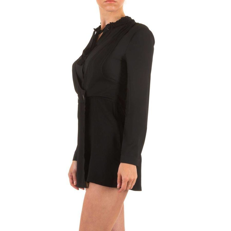 Damen Playsuit - schwarz