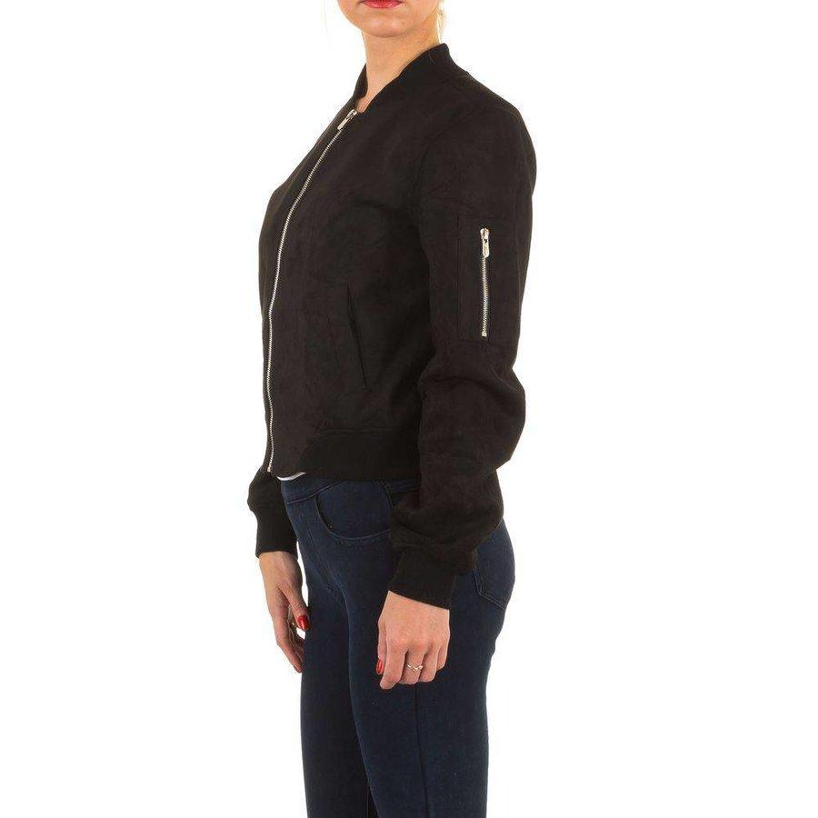 Damen Jacke - black