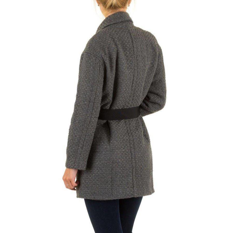 Damen Mantel von Julie By Jcl - grey