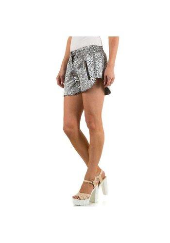 JCL Dames Shorts - zilver