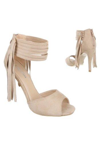 Neckermann Damen offen hoher Schuh - beige