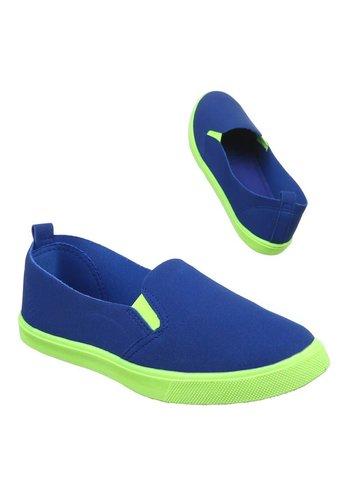 Neckermann Dames casual schoenen - LT.blauw