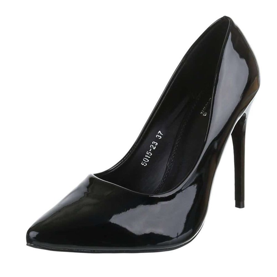 Damen Pumps - schwarzer Lack