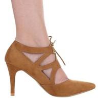 Damen High Heels - Kamel