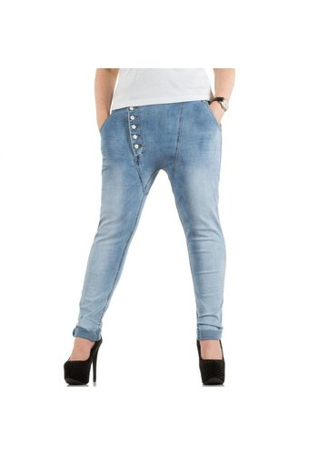 NINA CARTER Damen Jeans - L.blau