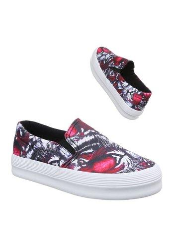 Neckermann Dames casual schoenen - fushia