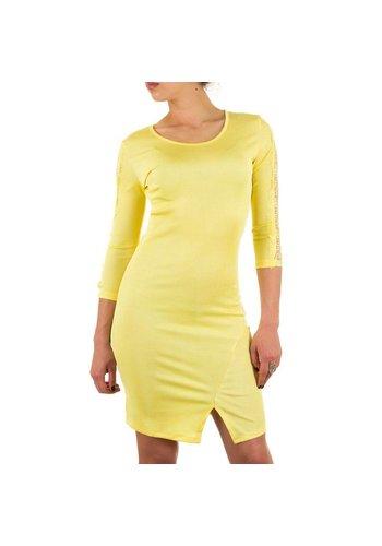Neckermann Damen Kleid - gelb