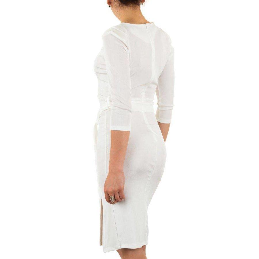 Damen Kleid - weiß