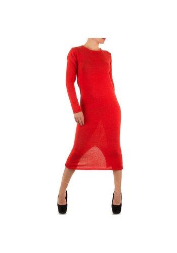 Neckermann Langes Damen Kleid - rot