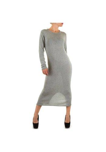Neckermann Langes Damen Kleid - grau