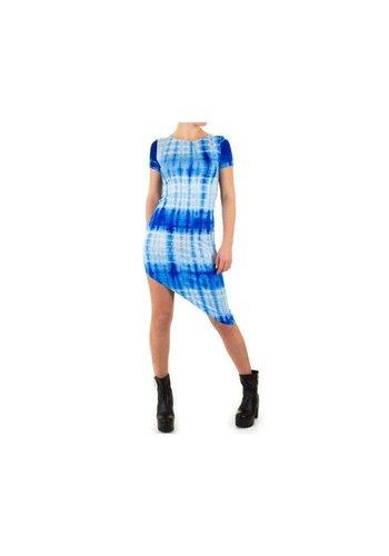 SHK MODE Robe femme par Shk Mode - bleu