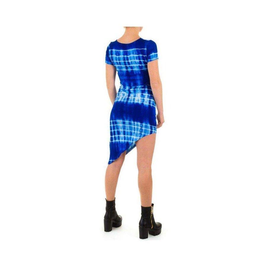 Damen Kleid von Shk Mode - blue