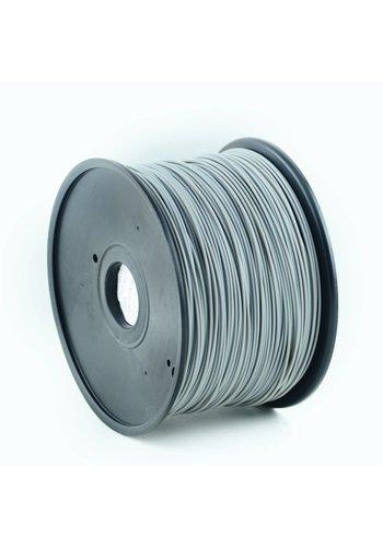Gembird3 PLA plastic filament voor 3D printers, 3 mm diameter, grijs