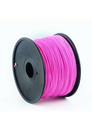 Gembird3 PLA plastic filament voor 3D printers, 3 mm diameter, magenta