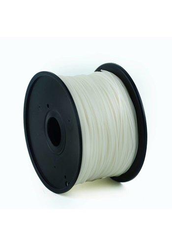 Gembird3 PLA plastic filament voor 3D printers, 3 mm diameter, naturel
