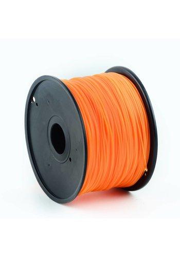 Gembird3 PLA plastic filament voor 3D printers, 3 mm diameter, oranje