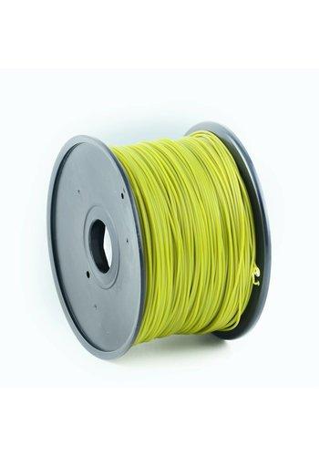 Gembird3 PLA plastic filament voor 3D printers, 3 mm diameter, olijf