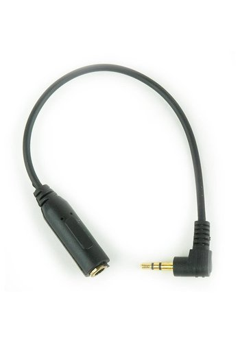 Cablexpert 2.5 mm to 3.5 mm audio adapter cable