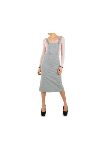 Neckermann Dungaree Dress Femme - gris