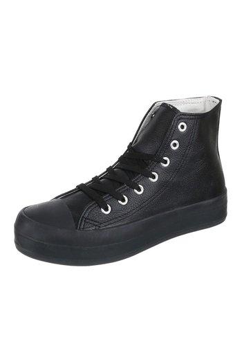 DMY High Damen Sneakers - schwarz